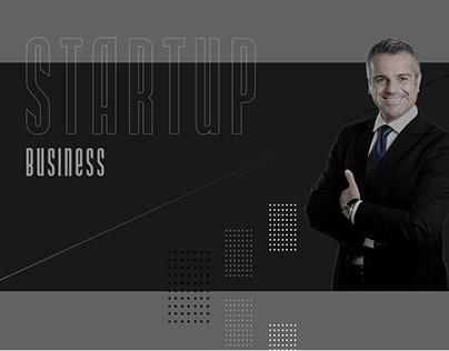 Startup Business. Banner