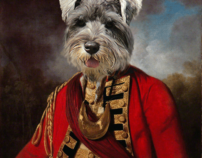 Dogs Oil Digital Paint