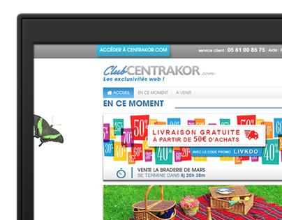 Club-Centrakor.com - Webdesign