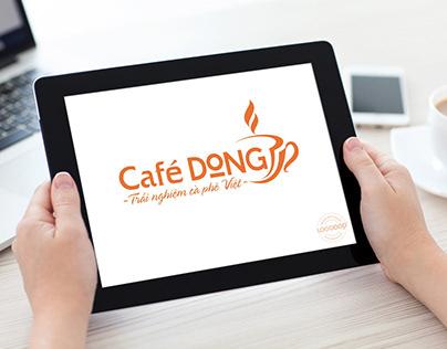 THIẾT KẾ LOGO THƯƠNG HIỆU CAFE DONG - Logodep.net