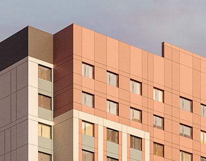 A Social Housing Block in Astana