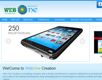WebOne Creation