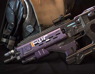 3D Printing Props: Destiny Conduit F3 Rifle