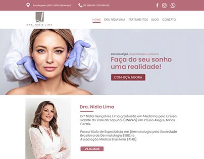Site Dra. Nidia Lima