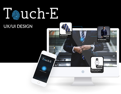 Touch-e: UX/UI for Web Platform and Mobile App