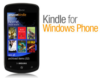Kindle for Windows Phone