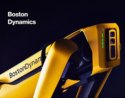 Boston dynamics redesign concept