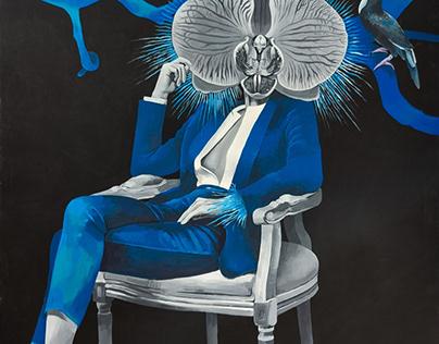 «Futurological Congress»  150x200 cm Acrylic/canvas