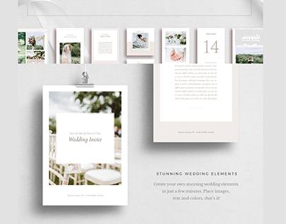 Wedding Theme Branding Set