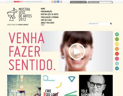 SESC - Mostra Sesc de Artes 2012
