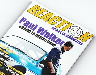 Revista REACTION Revive la adrenalina