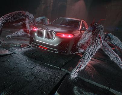 BMW ALPINA XB7 Halloween Add CGI