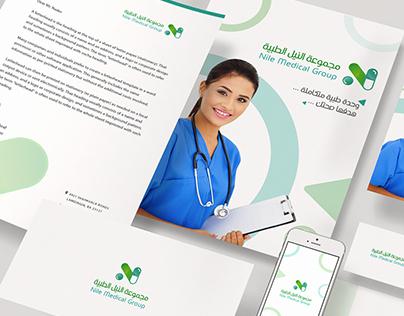 Nile Medical Group l Brand Identtiy