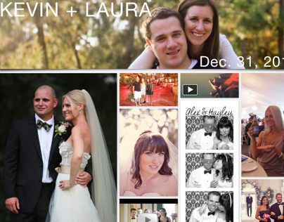 Cutterfly Wedding Album