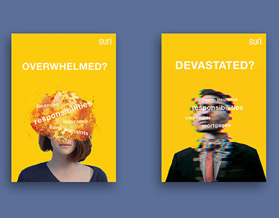 """""""Problems of growing up"""" poster series"""