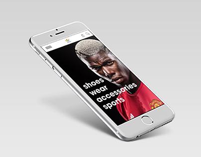 Adidas - E-commerce Mobile App