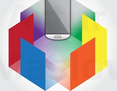 Mobile flashlight app logo