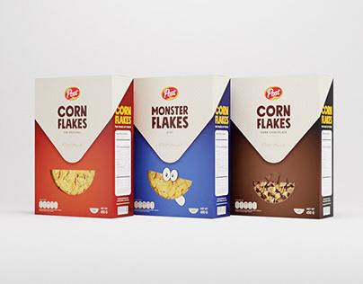 Post Toasties Corn Flakes - Rebranding