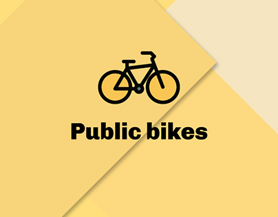 Public bikes - Conceptual App