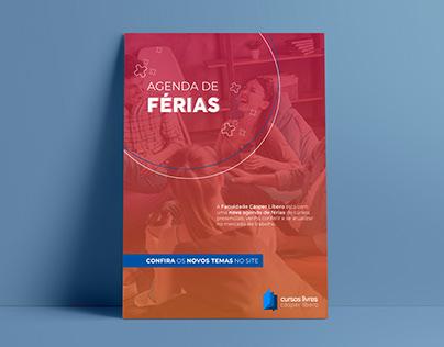 Agenda de Férias | Cursos Livres Cásper Líbero