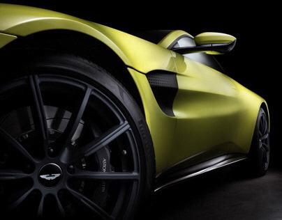 2018 Aston Martin Vantage shoot (Driven magazine)