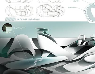 Buick SCENT concept interior