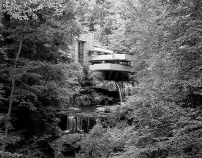 Frank Lloyd Wright's Kaufmann Residence (Fallingwater)