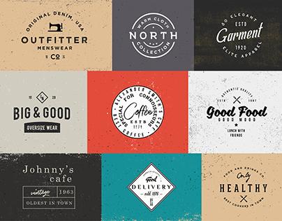 vol.1 Vintage Logos Templates