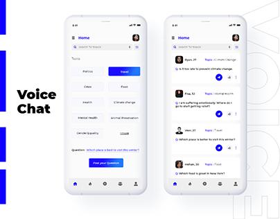 Voice Chat app