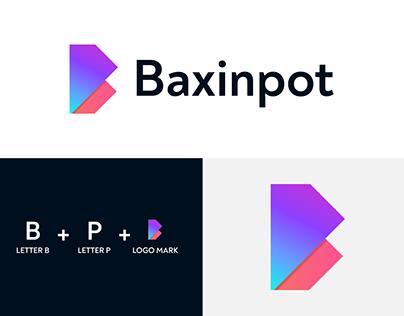 Baxinpot Logo Design (B+P)