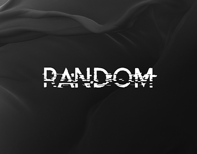 Random - a sound manipulated Font