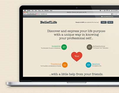 BeliefLife website