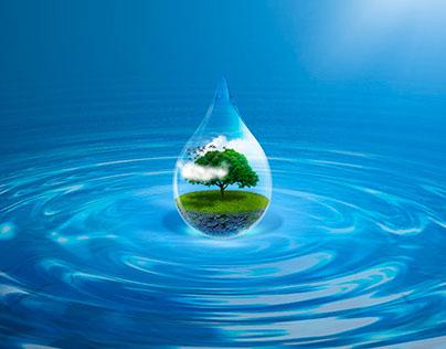 El agua es vida - SpeedArt