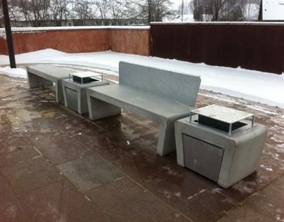 Cazana SpaceForm betonmøbel system