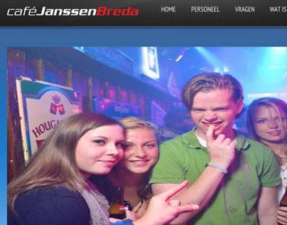 Website Cafe Janssen