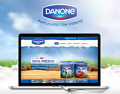 Danone Portuguese Website