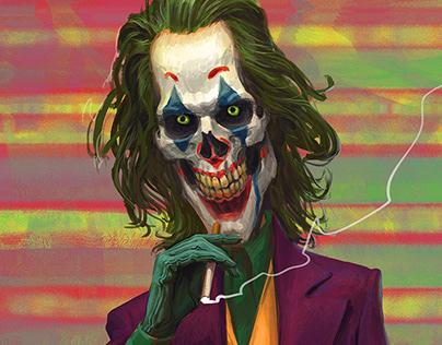 Joker Skull smile