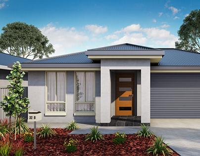 australian home visualization