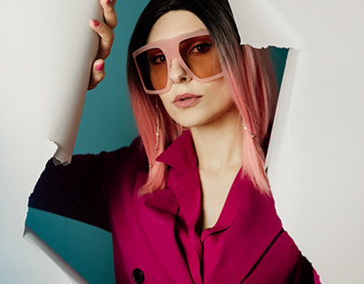 PINK For Mr Sunglasses