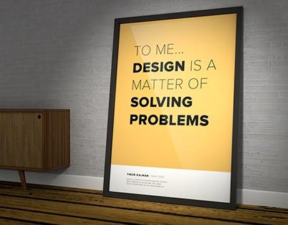 DESIGNERS TALK