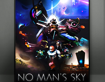 Tribute to No Man's Sky