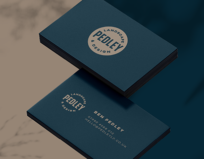 Pedley Landscape & Design   Brand Identity