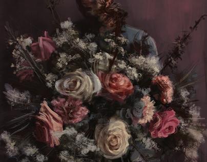 Flowers: roses (digital paint)