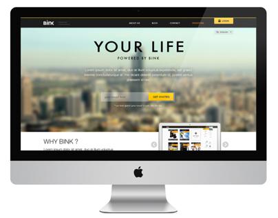 Bink website v2.0