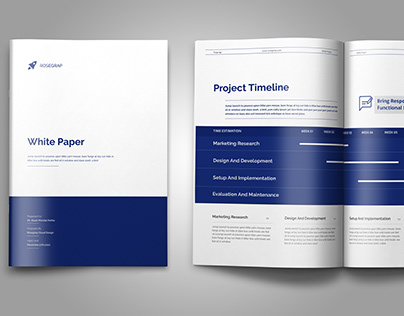 Minimal and Professional White Paper