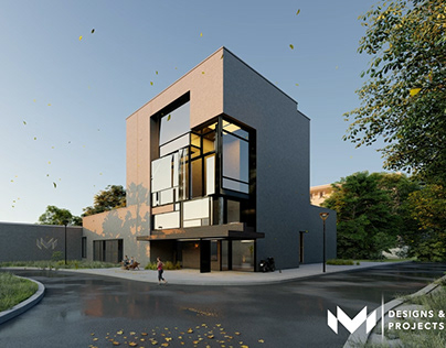 Architectural Exterior Walkthrough Film - Eagle Blues!