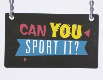 Can You Sport It?