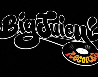 Big Juicy Records Branding