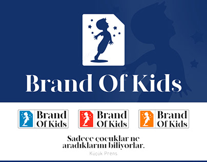 Brand of kids logo tasarımı
