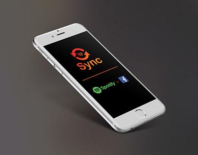 Sync App (Spotify+Facebook)